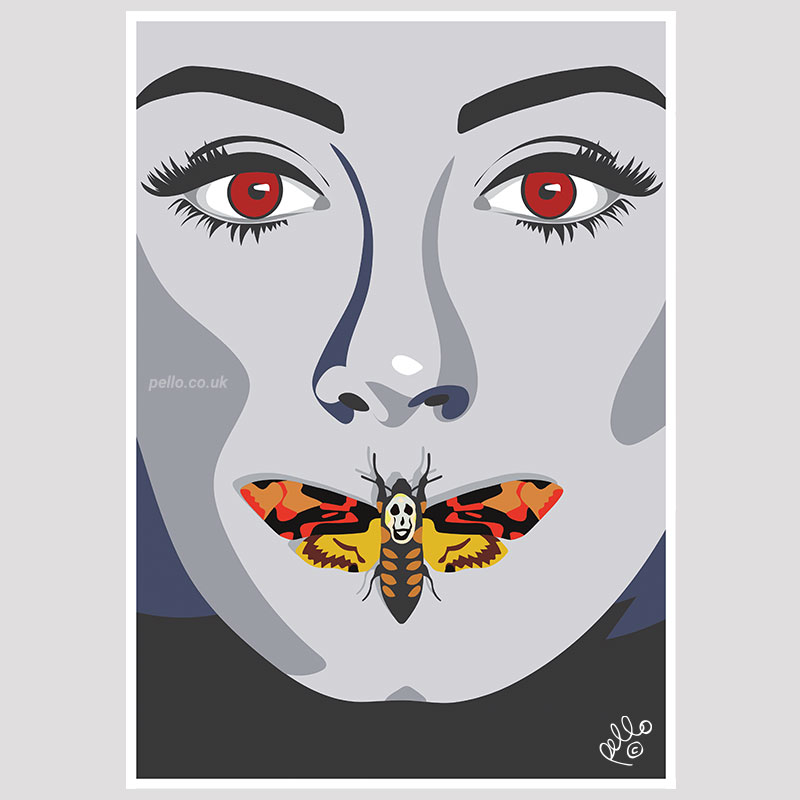 Adele x Silence of the Lambs by Pello