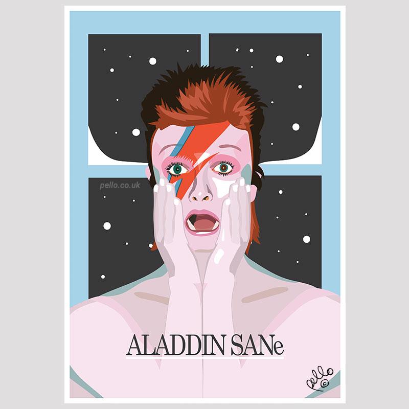 Aladdin Sane x Home Alone