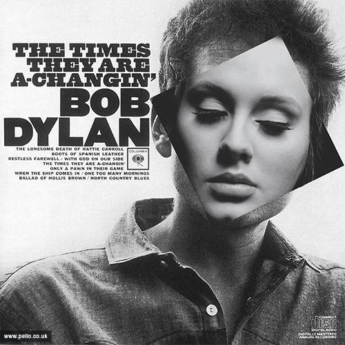 AnyAlbumAdele - Bob Dylan