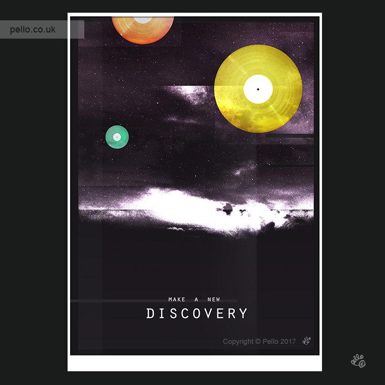 Discover something New - click to buy a print