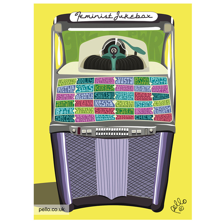 Feminist Jukebox by Pello