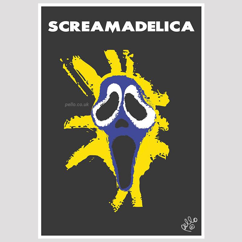 Screamadelica x Scream
