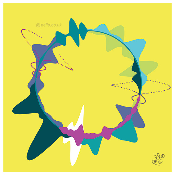 Sound Waves art by Pello