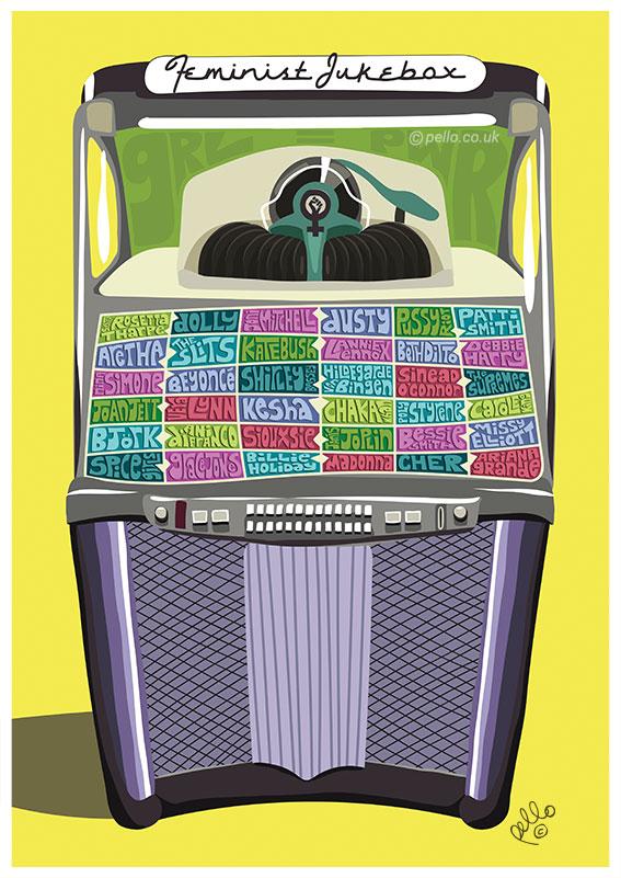 Feminist Jukebox by Pello