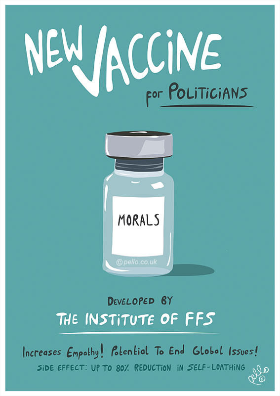Morals Vaccine by Pello
