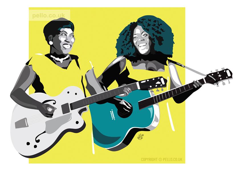 Rosetta and Yola by Pello