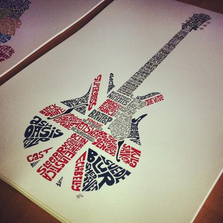 View 'Britpop Guitar' artwork