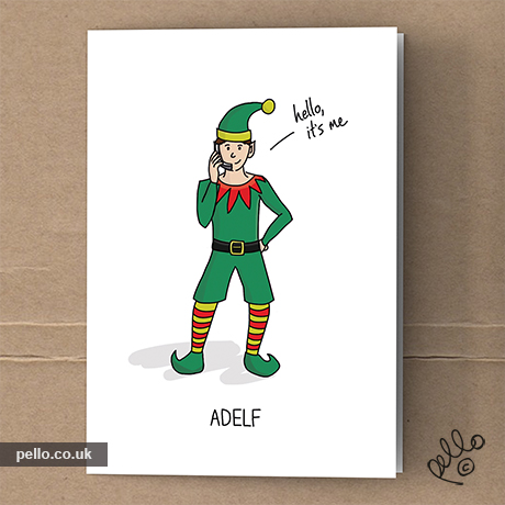 Cool christmas cards music art blog by east london artist david bowie christmas cards m4hsunfo