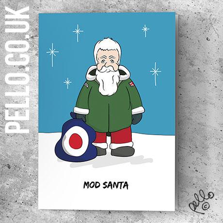 Mod Christmas Cards