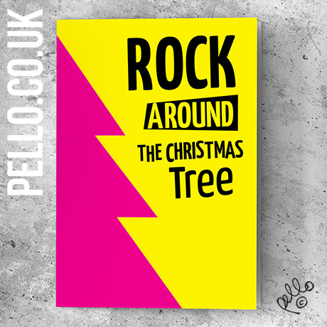 Punk Rock Christmas Cards