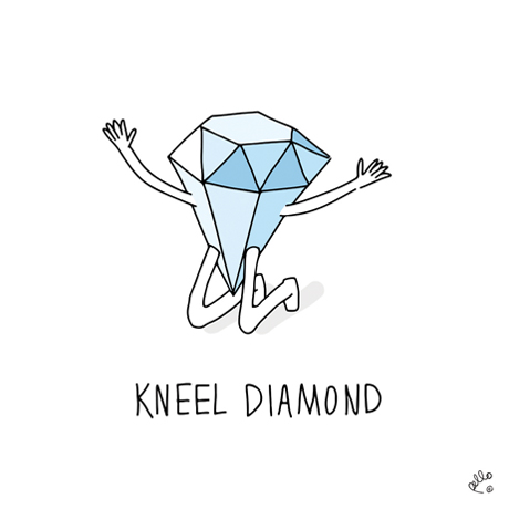 View 'Kneel Diamond