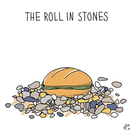 View 'The Roll In Stones