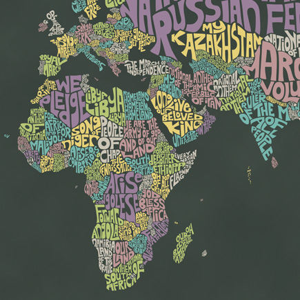 View 'World Anthems Map